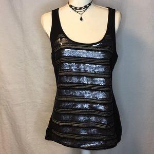 Express black tank top dressy